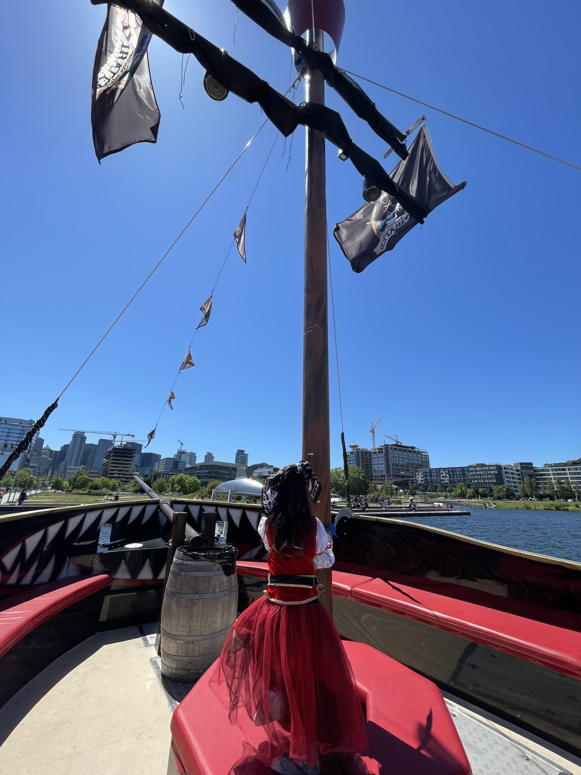 Seattle treasure cruise / boat tour