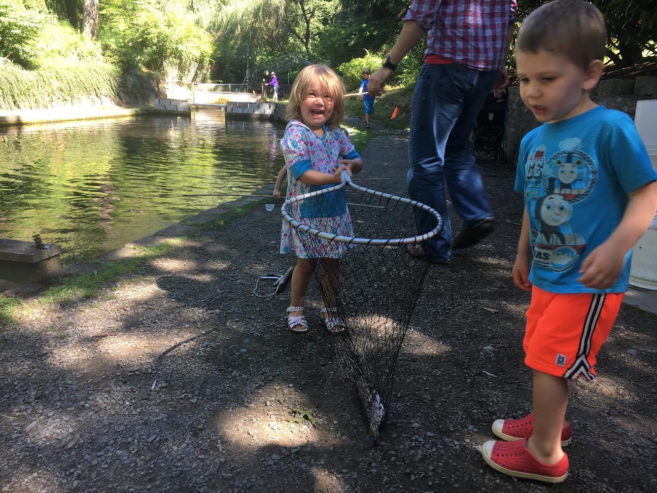 Teach kids to fish