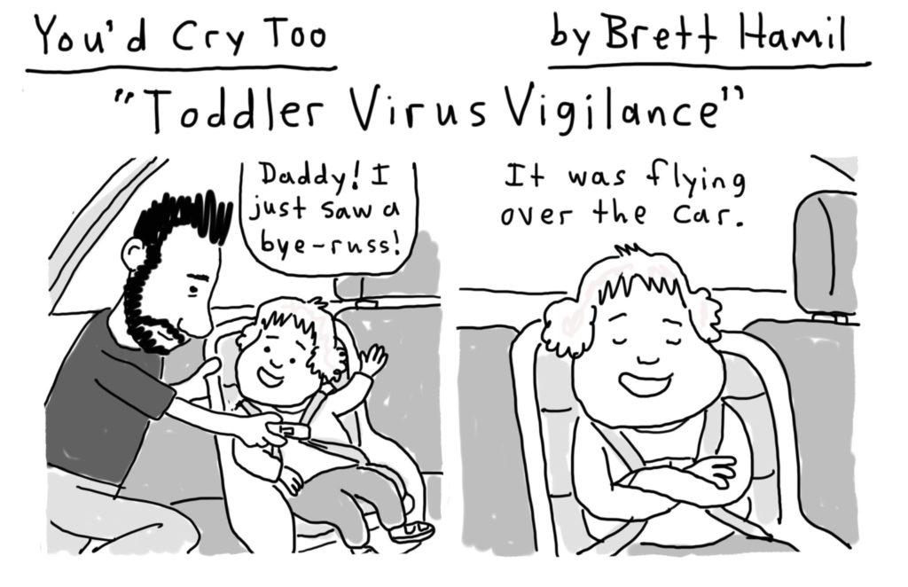 Brett Hamil cartoon