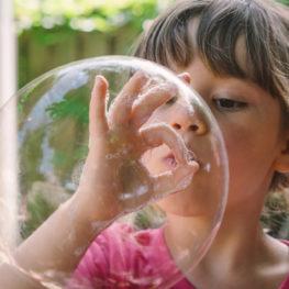 homemade bubbles