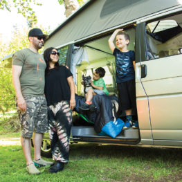 family camper van