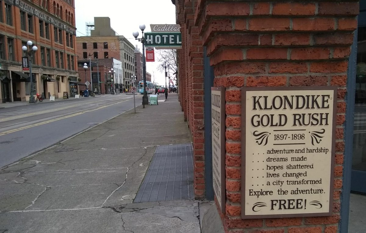 Seattle Gold Rush site