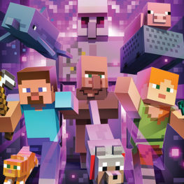 "weekend picks: poster from ""MInecraft: the Exhibition"""