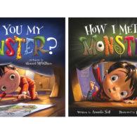 Halloween books monster