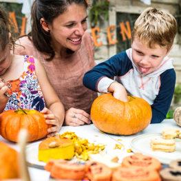 At-home Halloween activities