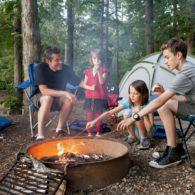last-minute campsite