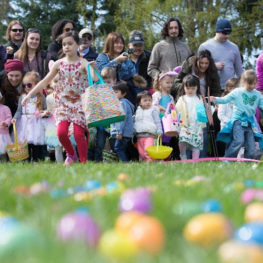 Easter egg hunts 2021