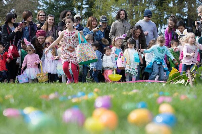 Easter egg hunts 2021