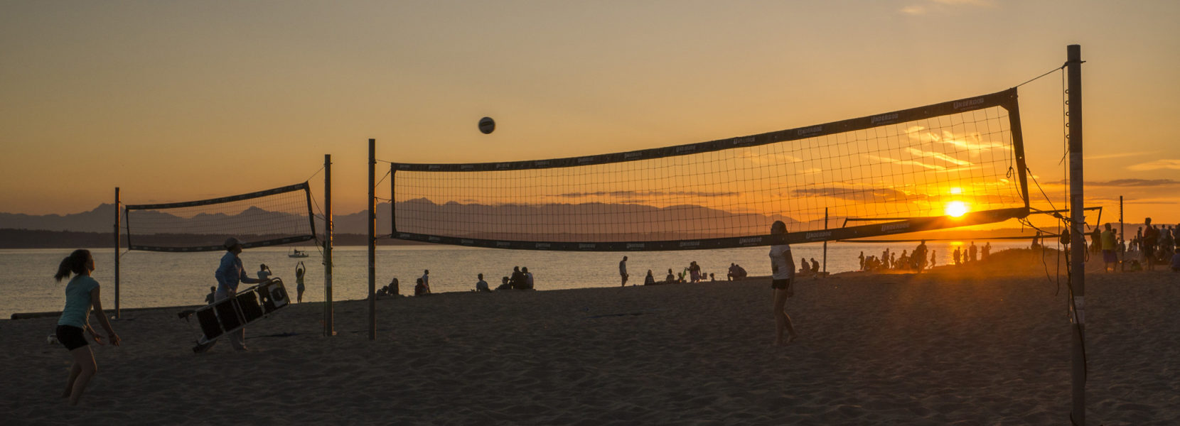 Seattle Parks Golden Gardens Volleyball