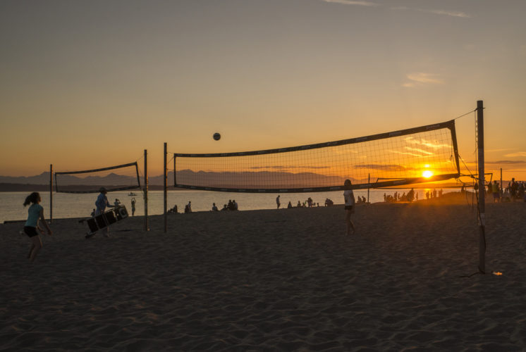 Seattle Parks Golden Gardens Volleyball