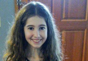 poetry contest winner Annabel