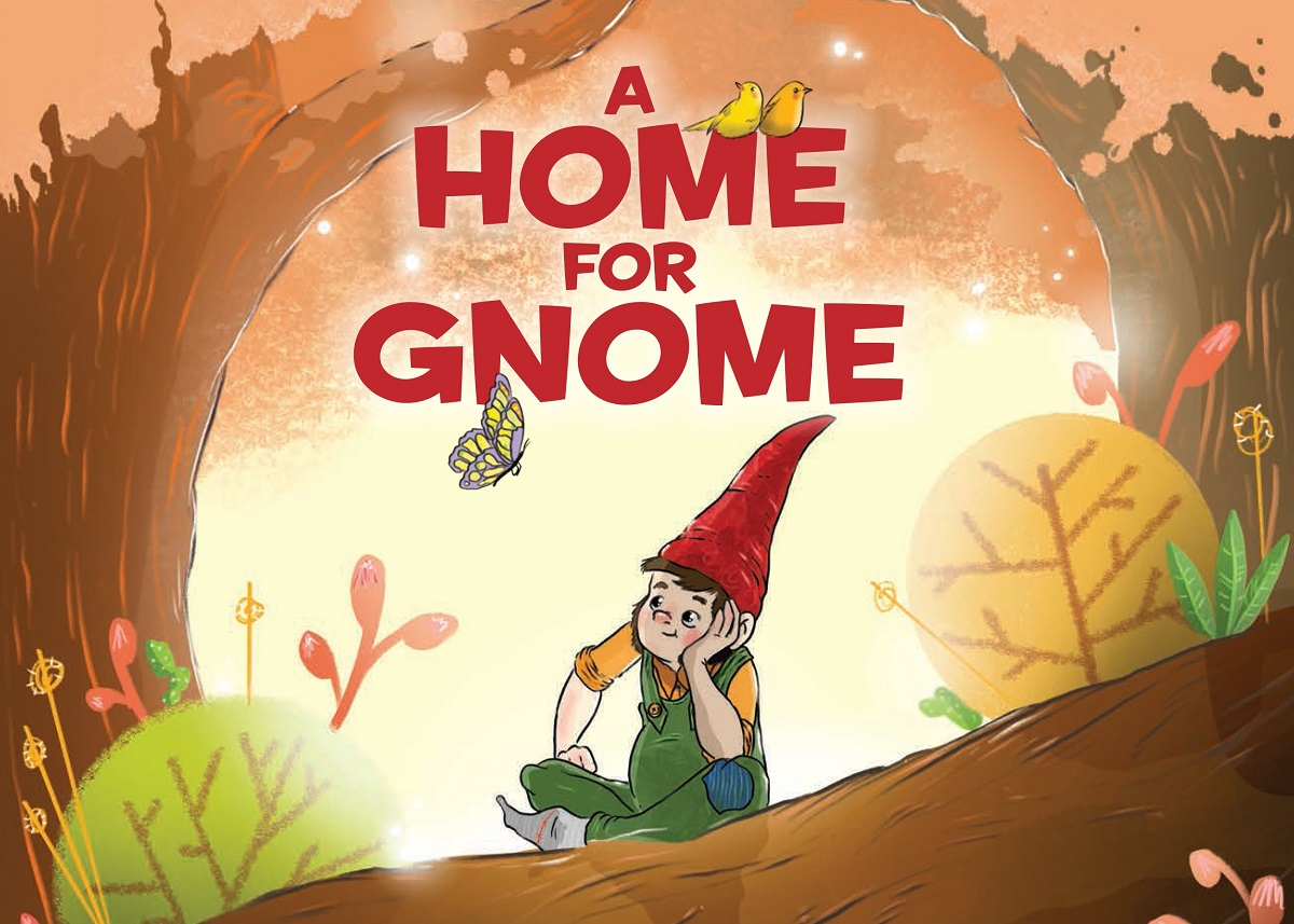 """A Home for Gnome"" book cover"