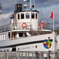 Weekend: You can explore Lake Union this weekend from the decks of the Virginia V.