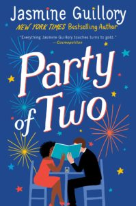 """Book cover: """"Party of Two"""""""