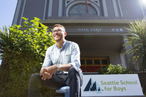 Seattle School for Boys co-founder Jerome Hunter