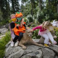weekend: Kids in costume at NW Trek Wildlife Park.