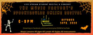 Online Halloween events