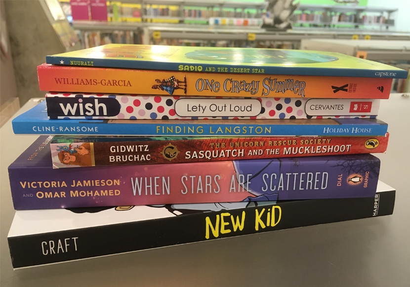 Erika's weekend picks: the titles for the 2021 Global Reading Challenge