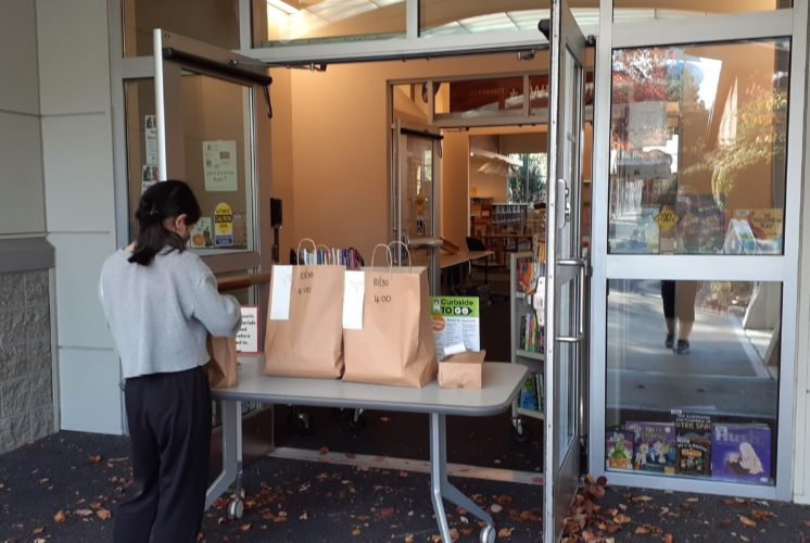 library curbside services