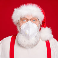 Santa visits 2020