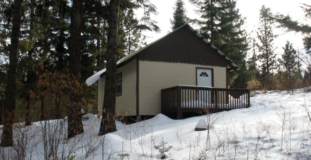 winter camping in Washington