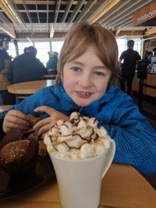 hot cocoa happy kid 12/14/20