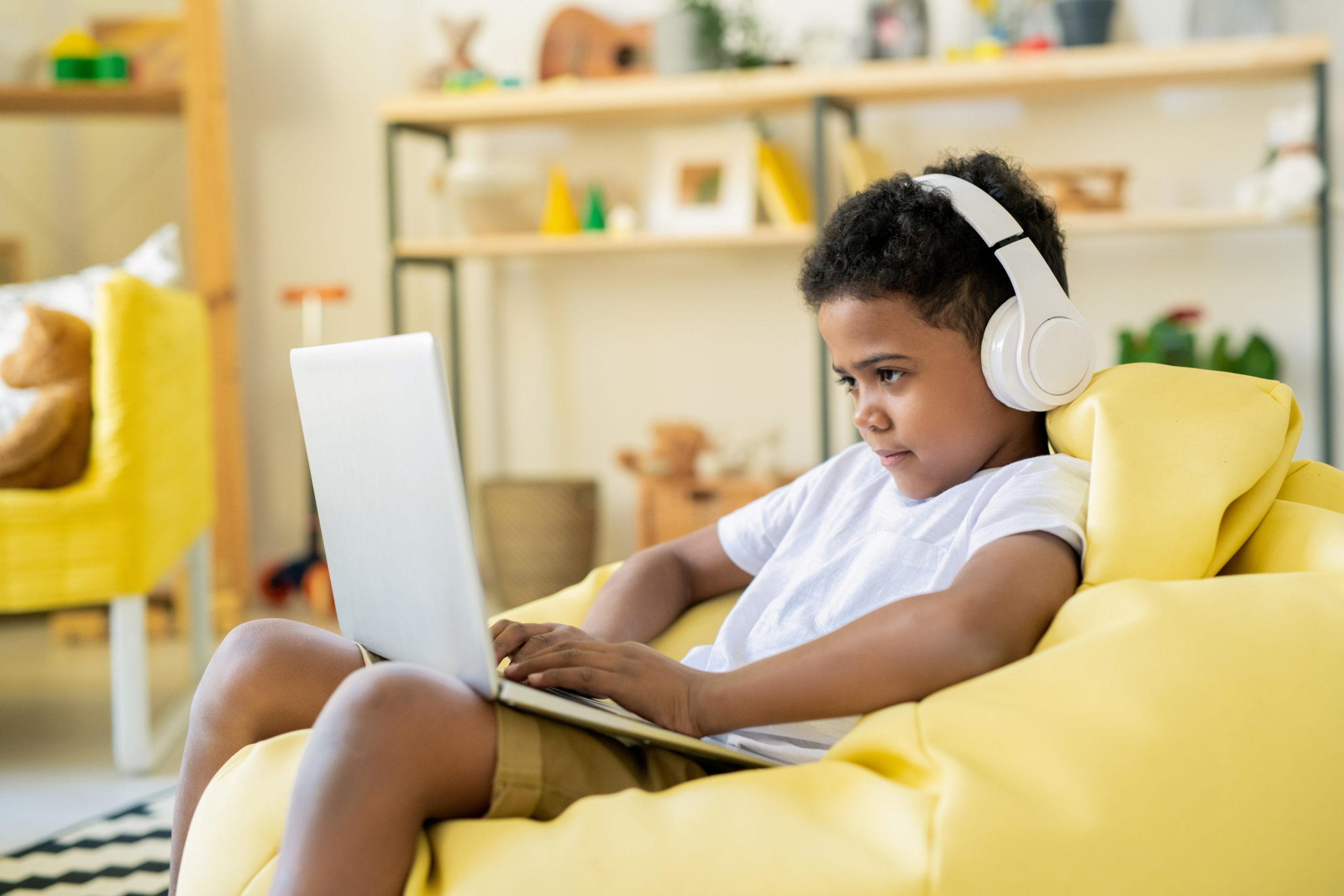 SBA testing / boy remote schooling