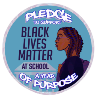 BLM at School logo