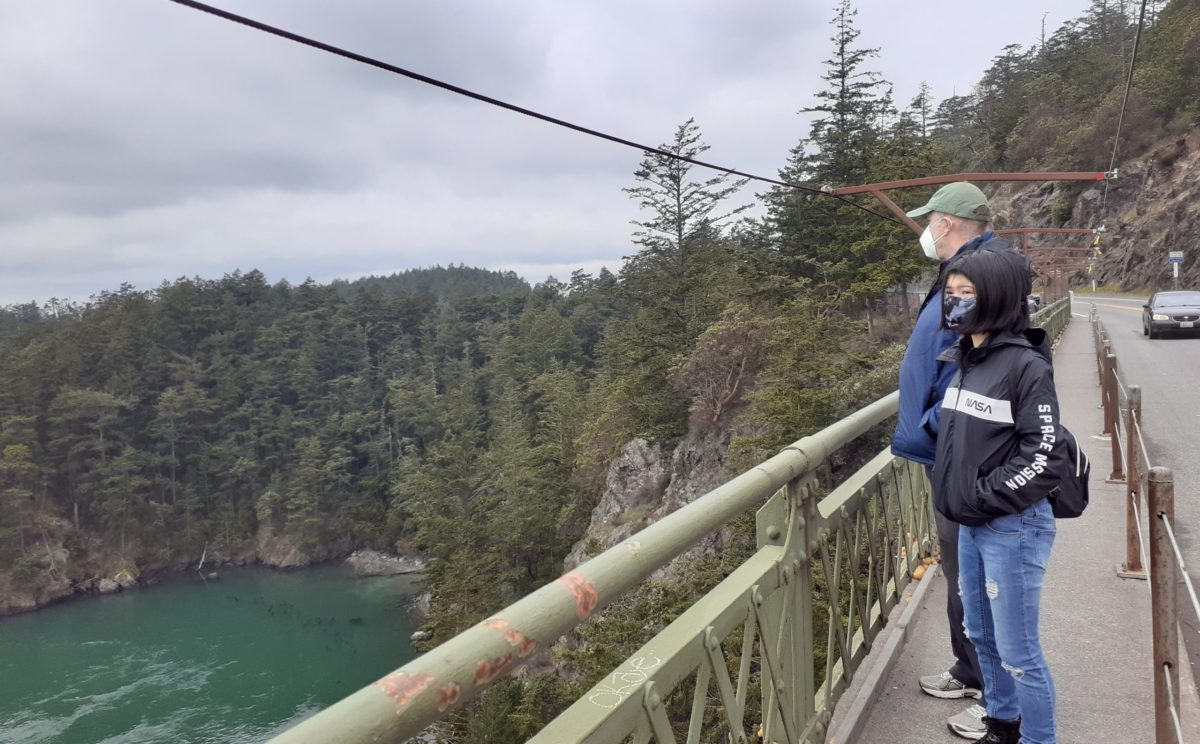 Deception Pass with kids