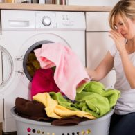 smelly laundry
