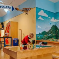kids' museum during COVID