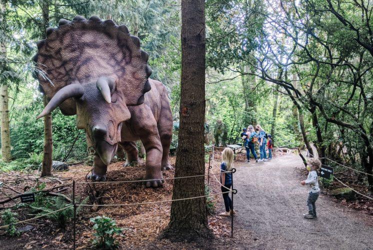 Woodland Park Zoo dinosaur exhibit