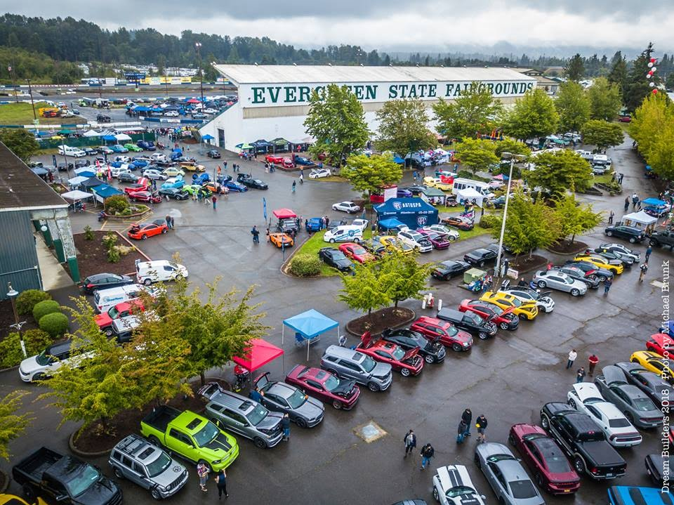 Father's Day car show at evergreen speedway