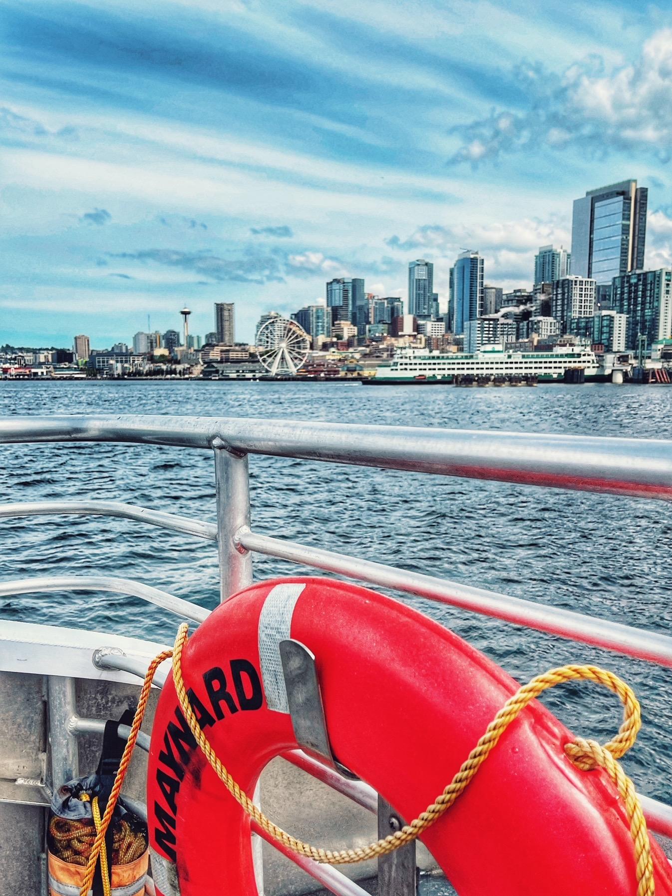 Alki ferry seattle day trip