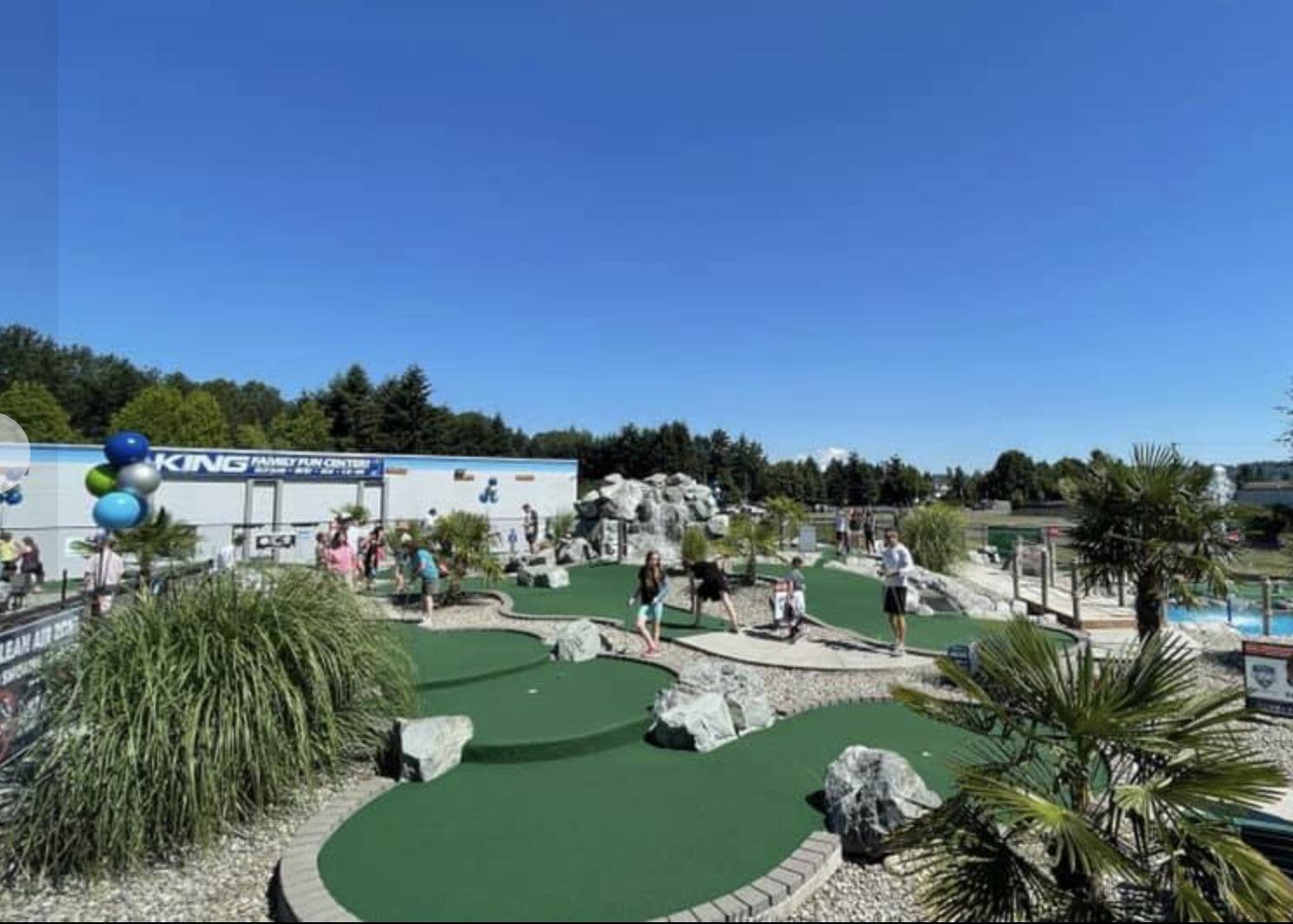 King Family Fun Center mini golf