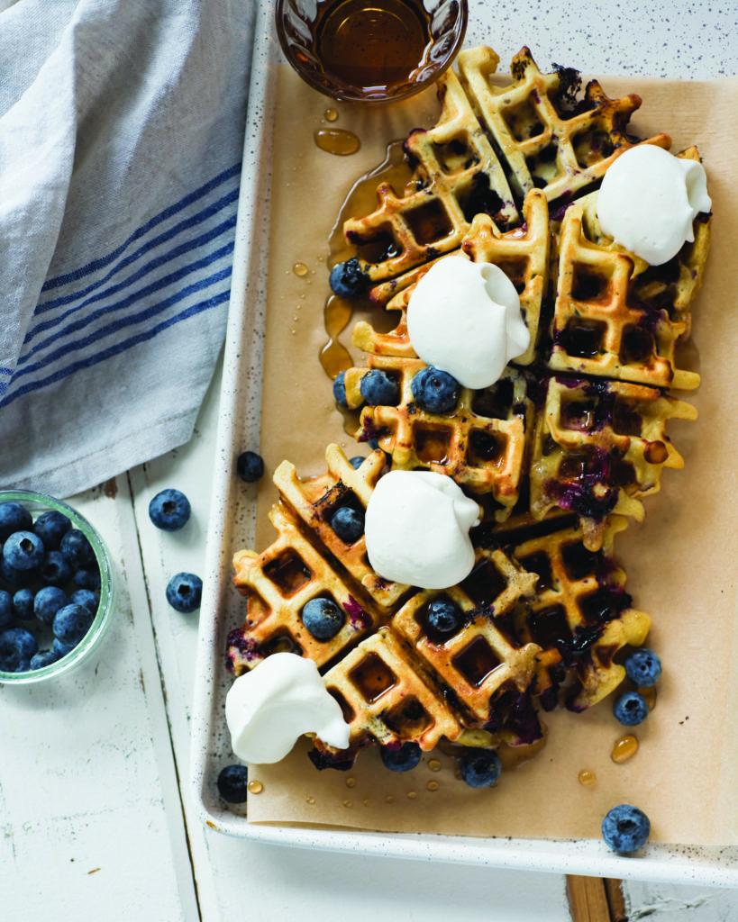 cookbook waffles