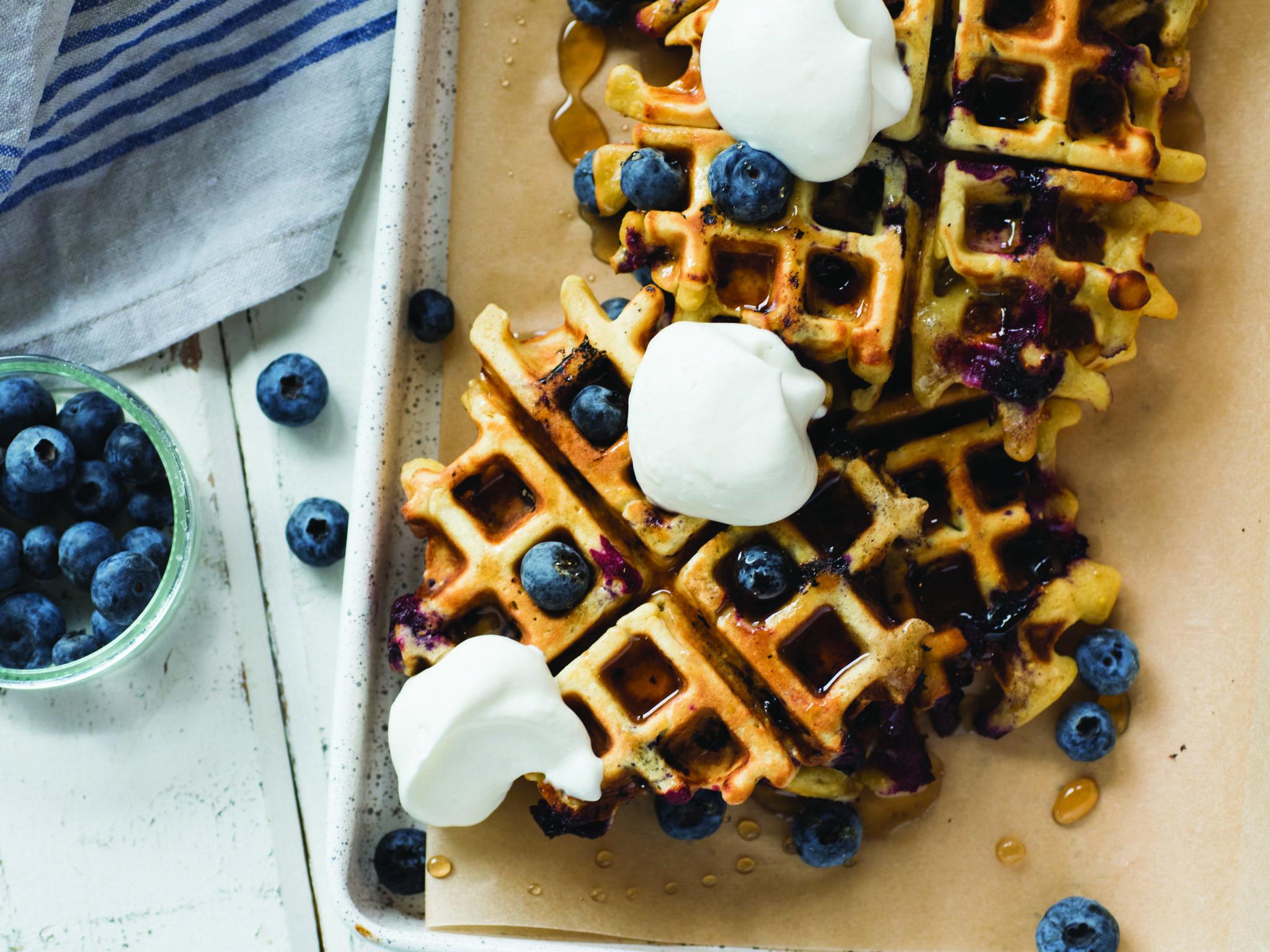 Rosie Mayes waffles