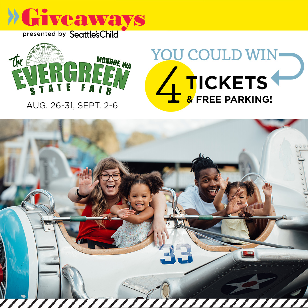 Seattle's Child Giveaways: Enter to win 4 tickets and free parking for the Evergreen State Fair in Monroe