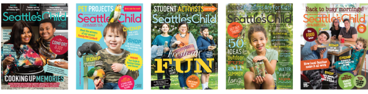Seattle's Child magazine covers